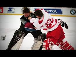 Red Wings Meme - kris draper bloody brawl with avalanche propelled red wings to