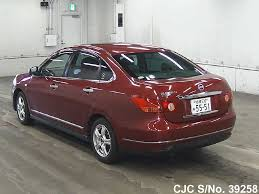 nissan cima 2007 2007 nissan bluebird sylphy red for sale stock no 39258