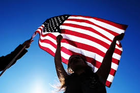American Flag Regulations Frank Luntz Americans Trust State Over Federal Government Time