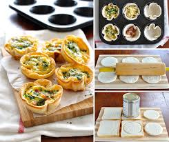canape cups recipes quiche toast cups food made and easy recipe tin eats