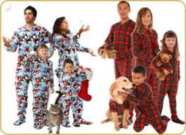 family footed pajamas decore
