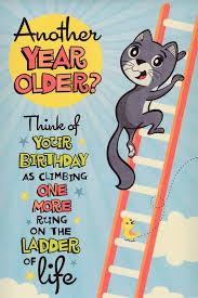 humorous birthday cards hallmark humorous birthday card ladder of humour