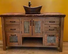 Unfinished Wood Vanities Rustic Vanity 64