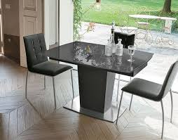 target dining room furniture target point copernico extending glass and metal dining table