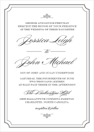 formal wedding invitation wedding invitations match your color style free