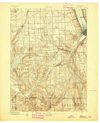 New York State Counties Map by Old Maps Of New York