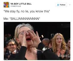 Meme Yelling - meryl streep yelling to your favorite songs is the meme you ve been