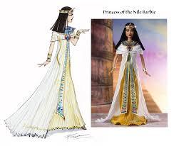 princess barbie dolls design illustrations
