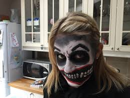 Scary Zombie Halloween Makeup by Halloween 2014 Scary Zombie Clown Face Paint Tutorial Make Up