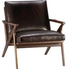 Brown Leather Accent Chair Accent Chair Leather With Modern Leather Accent Chairs
