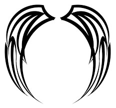 tribal wing design by zabador clipart panda free clipart images