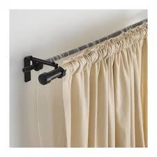 double curtain rod brackets ikea eyelet curtain curtain ideas