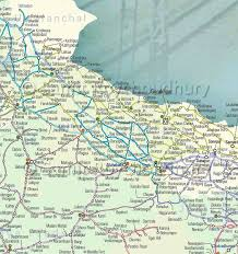 road map up irfca indian railways faq route map 4 up
