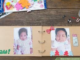 tutorial membuat scrapbook digital how to start a scrapbook with pictures wikihow