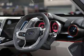 subaru viziv interior subaru viziv future concept looks great drives itself autoguide