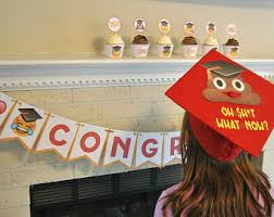 buy graduation cap emoji graduation etsy