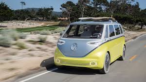 vw minivan volkswagen i d buzz this is vw u0027s first electric microbus coming