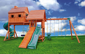 Pergola Swing Set Plans by Fantasy Tree House Playset 3 Fantasy Tree House Swing Set 3