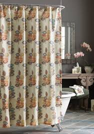 Detroit Lions Shower Curtain Croscill Mosaic Leaves Shower Curtain Belk