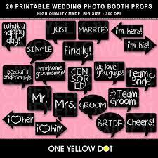 wedding quotes pdf wedding photo booth props printable pdf karjo