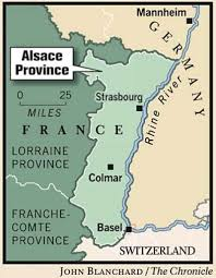 Alsace Lorraine Map Alsatian Sensation Formerly Part Of Germany This French Region