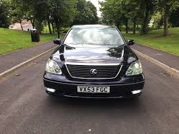 lexus lpg cars for sale 2003 53 lexus ls430 4 3 v8 auto blue modified powerflow exhausts