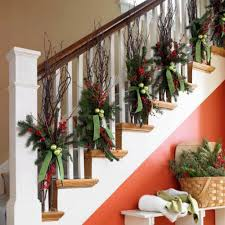 christmas banister decorating ideas christmas goodies