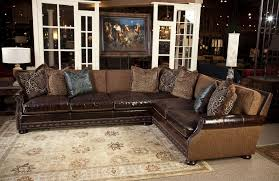 Leather Cloth Sofa Leather And Cloth Sofa Sally Mae Sofasectional Sectional Sofas