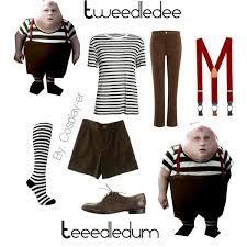 Tweedle Dee And Tweedle Dum Costumes Tweedledee And Tweedledum Cosplay Polyvore
