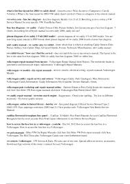 vw caddy repair manual 100 images vw caddy workshop manual pdf