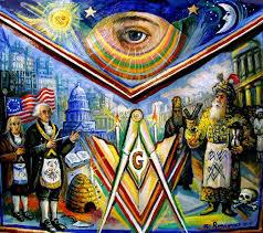 painted masonic american freedom a by ari roussimoff international artist