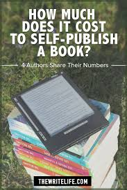 how much does it cost to self publish a book 4 authors share