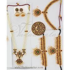 bharatanatyam jewellery set
