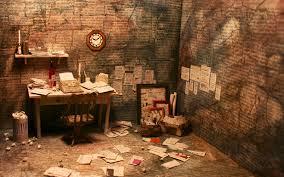bureau d ecrivain coolminiornot le bureau de l écrivain anonyme by gandalf95