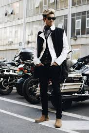 biker style mens boots all of my toronto fashion week alexanderliang com