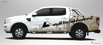 Ford Ranger Design Car And Truck Graphics By Bart Van Den Bogaard At Coroflot Com
