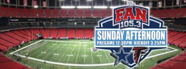 105 3 the fan listen live live blog dallas cowboys vs atlanta falcons cowboys football