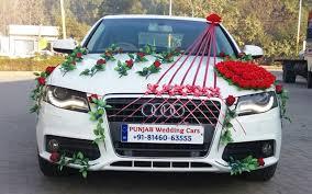 indian wedding car decoration gallery punjab wedding cars best luxury wedding cars in punjab