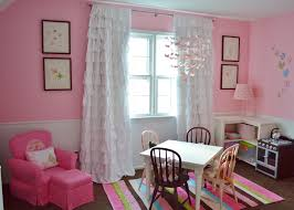Ruffled Curtains Pink Ruffle Curtains In Kids Traditional With Nicole Miller Furniture