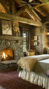 Log Home Bedrooms Pin By Susanne Olson On House Interiors Pinterest Outdoor