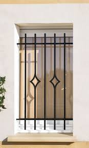 Elegant Window Grill Design