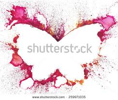 abstract butterfly background free vector stock