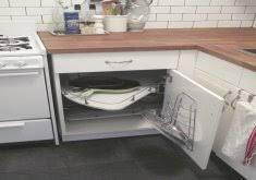 ikea lazy susan cabinet ikea kitchen corner cabinet iheart organizing organized kitchen
