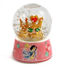 disney princess glass snow globe for christmas home decor disney princess snow globe