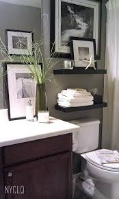 bathroom shelf decorating ideas best 25 half bathroom decor ideas on half bathroom