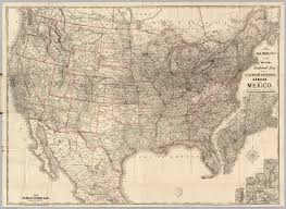 United States Railroad Map by Railroad Map Of The United States David Rumsey Historical Map