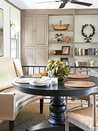 Dining Room Settee Terrific Kitchen Table With Settee Settee Cottage Dining Room
