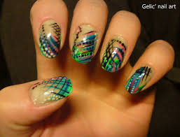 nails have lines in them beautify themselves with sweet nails