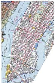 New York City Map Of Manhattan by Detailed Road Map Of Manhattan Nyc Manhattan Nyc Detailed Road