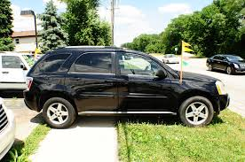 2005 chevrolet equinox lt black awd used suv sale